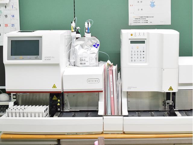 ヘモグロビンA1c血糖測定装置